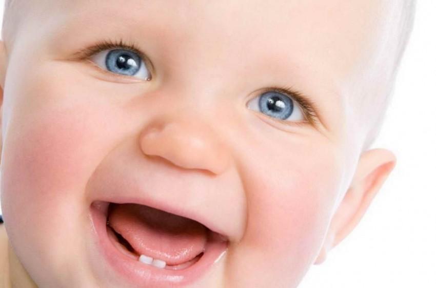 Прорезывание зубов у детей: фото десны у грудничков при воспалении и набухании
