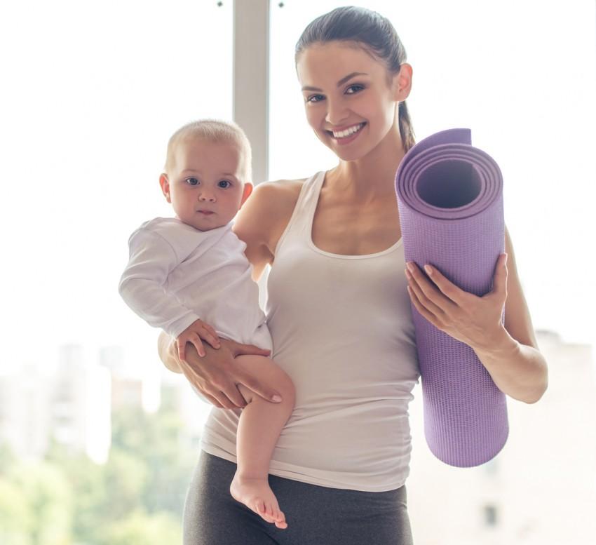 Упражнения после родов: восстановительная гимнастика и правила выполнения упражнений после родов